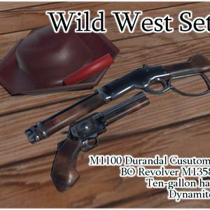 【VRchat想定】MCF Wild West Set