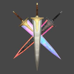 MCF 聖剣ティターニア 魔剣ブレイクハート