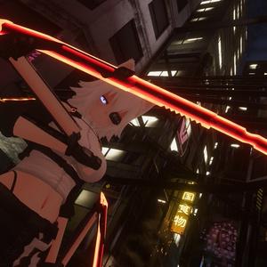 MCF Cyborg Hidden Blade Predator