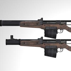 MCF Hunter Automatic Rifle
