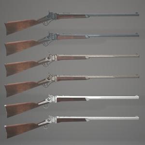 MCF Sharps Rifle