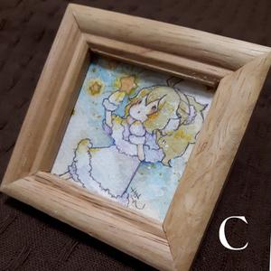 【ミニ原画】冬の星・1