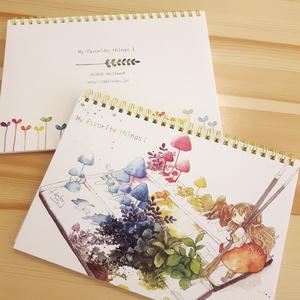スケッチブック&ノート【My favorite things!】