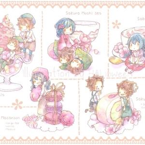 Postcard【さくらスイーツ】