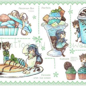Postcard【チョコミント】