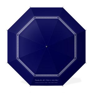 カラーセラピー 色彩療法 ホリスティック 光 音 周波数 すっきり スタイリッシュ 大人 シンプル 紳士 シック 紋様 きれいめ Umbrella かさ 傘