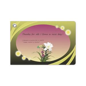 カラーセラピー 色彩療法 ホリスティック 光 音 周波数 ほたる 稲作 お米 rice 稲穂 flower 定期券 パスカバー カードケース