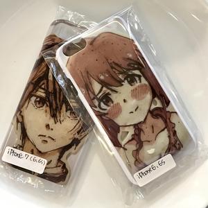 "Real Printed Pancake Case ""Ichimatsu"" とってもリアルなパンケーキアートなiPhoneケース"