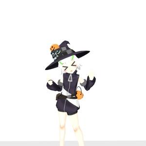 魔女帽子【VRChat向け】