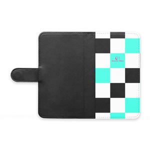 手帳型Androidケース - checkers M -