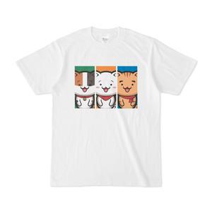 にゃんぱと。Tシャツ