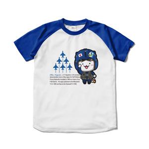 にゃんぱとBIラグランTシャツ