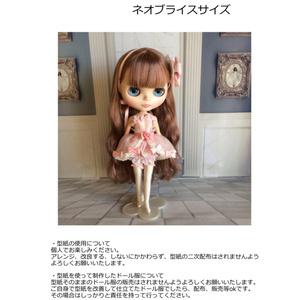 ドール服型紙 妖精さんのお洋服ネオブライスサイズ