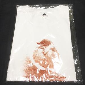 すずめTシャツ(ホワイト)
