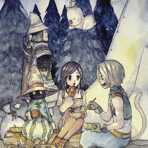 FINAL FANTASY Ⅸ COLOR GALLERY -旅の記憶-