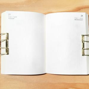 muji diary - 2020