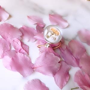 鶴丸国永バブルローズリング 伍