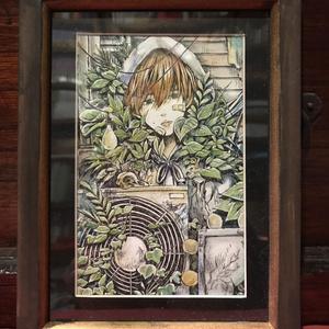 袋小路K アナログ原画【浸食】