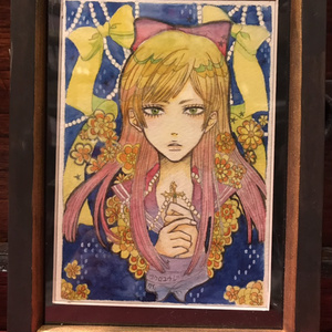 袋小路K アナログ原画【少女迷宮】