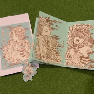 豆本イラスト集【骨格標本の小部屋】