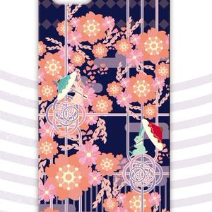 【スマホケース】春らんまん-夜桜/受注生産