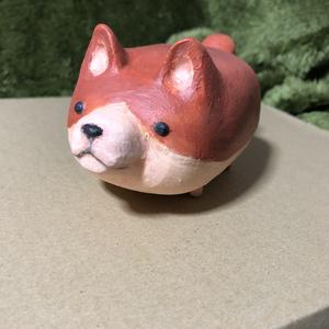 犬の貯金箱風置物