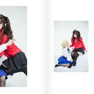「凛xセイバーの日常」Fate凛xアルトリア百合写真集