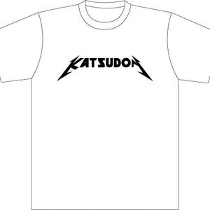 メタリカツ丼Tシャツ(白)