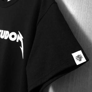 メタリカツ丼Tシャツ(黒)