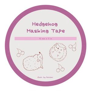 Hedgehog Masking Tape *1