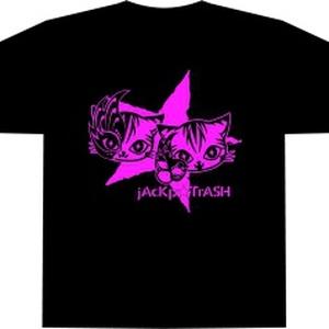 黒Tシャツ(仮面ASH)