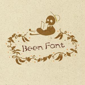 【英字フリーフォント/Free font】beenフォント