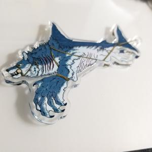 吊り上げ鮫狼アクリルキーホルダー