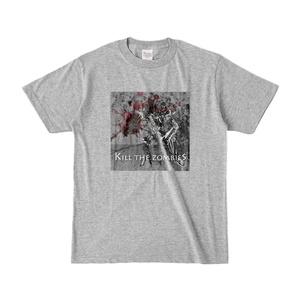 ゾンビを○すマシーンTシャツ
