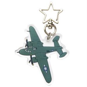 B-25アクリルキーホルダー