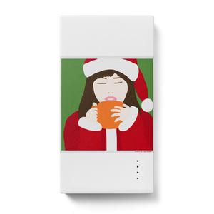 サンタガール モバイルバッテリー タテ