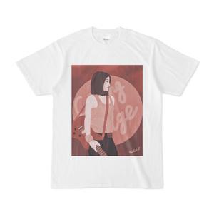 バーガンディ Tシャツ