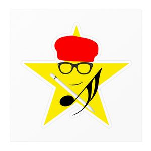 Logic RockStar  Original ICON ステッカー 白 &  クリアー