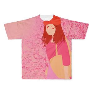 春風 フルグラフィックTシャツ
