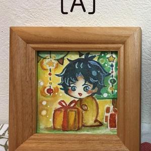 【ミニ原画】ジョナサン・ジョースター[A][B]