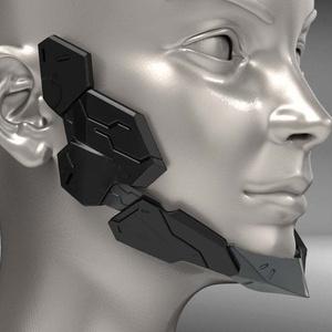 Cyborg Jaw STL for 3Dprint