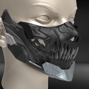 Cyborg Mask V3 STL for 3D print model