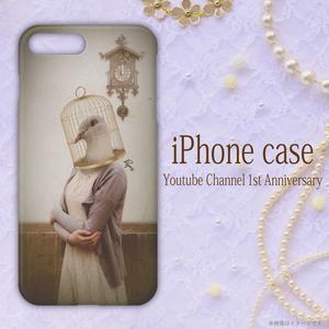 オリジナルデザインiPhoneケース 【鳥さん】