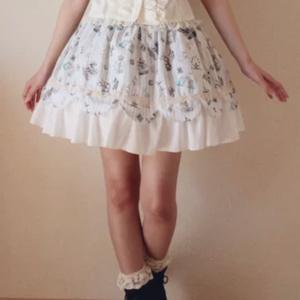 フラミンゴ♪スカート