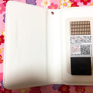 携帯手帳型カバー(三日月イメージ