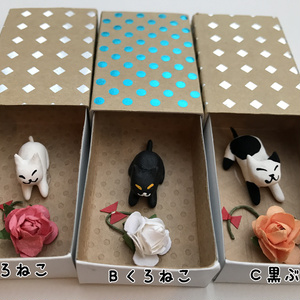 ネコさん Thank You Box (花)