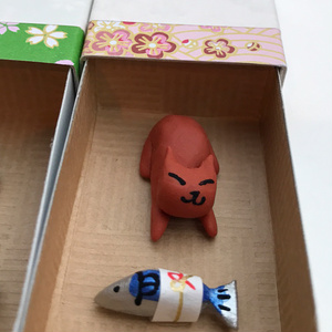 ネコさん Thank You Box (魚)
