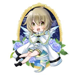 天使様アクリルキーホルダー124