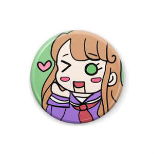 ロボ☆フカミン缶バッジ