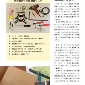 さかどんのオリジナルスピーカーつくりかた&設計図面集(冊子版)
